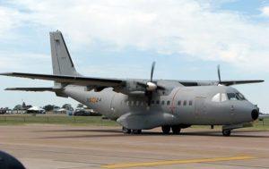 Spanish Military Plane Runs Off Air Strip, Injuring 11 (PHOTOS)