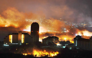 Massive Wildfires in South Korea Kill One, Force Thousands to Evacuate (PHOTOS)