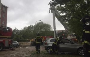 Gas Explosion Destroys Whole Storey in Madrid Building, Injures 16 (PHOTOS)