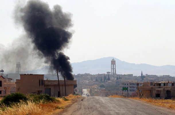 Explosions Reportedly Heard in Countryside Near Syria's Hama (PHOTOS, VIDEO)