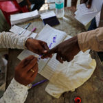 Indian Man Chops Off His Finger After Voting For Wrong Candidate – Reports