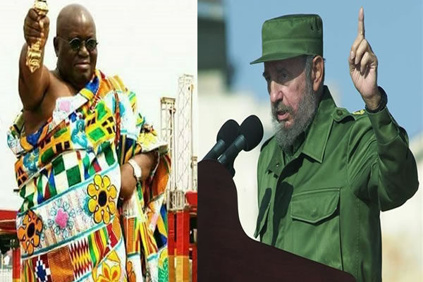 Fidel Castro made 'PROPHECIES' about my presidency - Akufo-Addo
