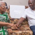 Amissah-Arthur's mom prays for Mahama ahead of election 2020; chief predicts win
