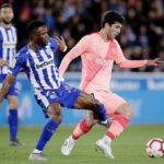 Ghana duo Wakaso and Twumasi feature for Alaves in defeat to Barcelona