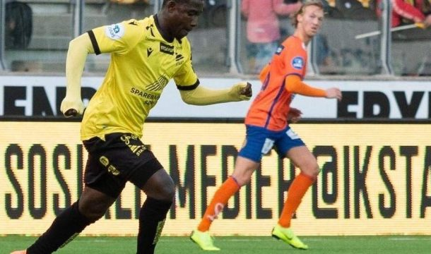 Versatile Isaac Twum plays as center back in IK Start's league win