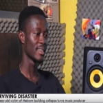 Surviving disaster: Victim of Achimota building collapse becomes top producer