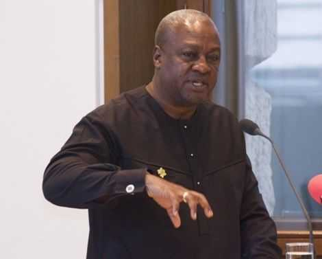 Govt's over-concentration on SHS worrying — Mahama