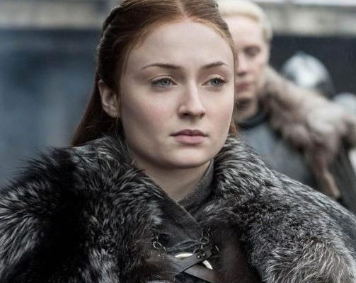 """""""Game of Thrones"""" star, Sophie Turner says criticism of her role as Sansa Stark on the hit series led to her depression"""