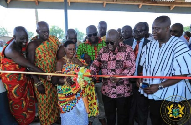 New regions will receive fair share of infrastructure – President Akufo-Addo
