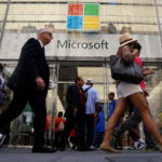 Microsoft tops $1 trillion in value for the first time, beats estimates