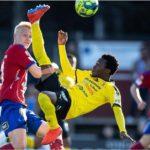 Abdul Halik Hudu scores debut goal in IK Frej's win