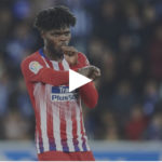 Atlético Madrid midfielder Thomas Partey receives standing ovation at Mendizorrotza stadium