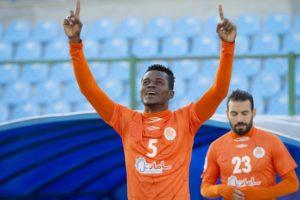 Samuel Sarfo earns place in Iranian Football Team of the week