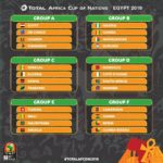 OFFICIAL: Full 2019 AFCON draw revealed
