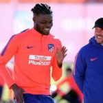 Atlético Madrid manager Diego Simeone: I love Thomas Partey a lot