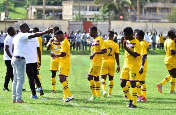 Medeama draw at Aduana Stars marred by crowd violence