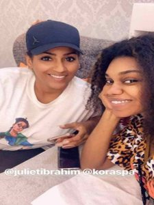 PHOTO: Becca's bleached skin causes fear and panic on social media