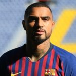 'You came to Barça just to take pictures'- Fan mocks KP Boateng