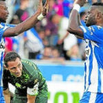 Wakaso and Twamasi to stop Barca from winning La Liga title