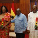 Akufo-Addo swears in Bono, Oti Regional Ministers