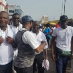 Black Stars coach spotted at NPP health walk