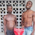 PHOTO: Two nabbed for stealing female PANTIES