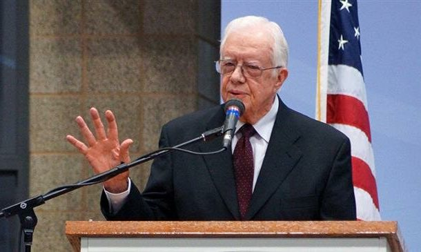 US 'most warlike nation in history': Jimmy Carter