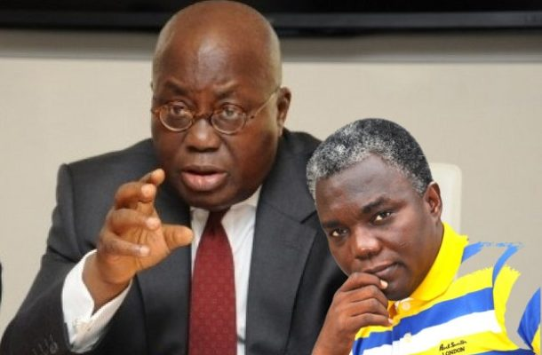Why I pray for Akufo-Addo always — Francis Kwateng