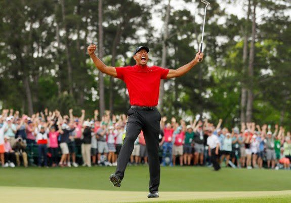 Never give up – Mahama lauds Tiger Woods