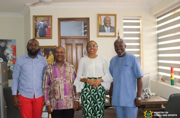 MOYS, Miss Ghana Foundation explores possible ways of collaboration