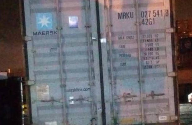 Customs detains container with suspected arms