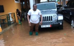 PHOTOS: Ayariga's mansion flood; Bentley, 7 Other luxurious cars affected