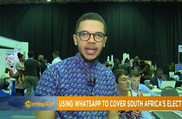#SMWX: Using WhatsApp to cover South Africa's elections [The Morning Call]