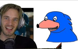 WATCH PewDiePie Offers His Help to Redraw Movie Version of Sonic in New Video