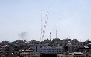 VIDEO of Gaza Skyline Following IDF Attacks on Terrorist Targets