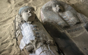 Ancient Egyptian Tombs and Coffins Discovered Near Giza Pyramids (PHOTO, VIDEO)