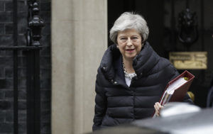 UK Prime Minister May Delivers Statement on New Brexit Deal (VIDEO)