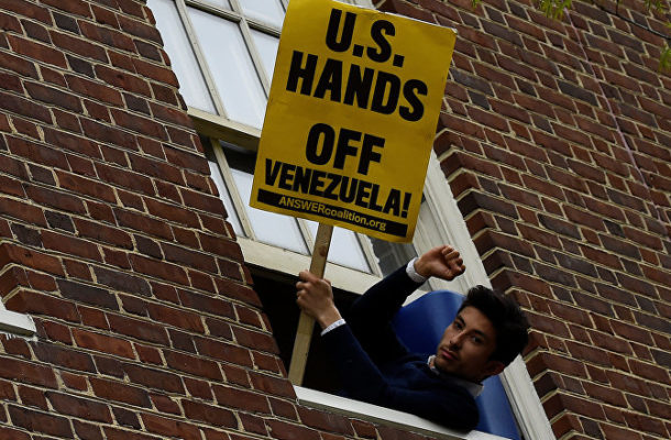 Guaido's People Responsible for Damage Done to Venezuelan Embassy - US Activist