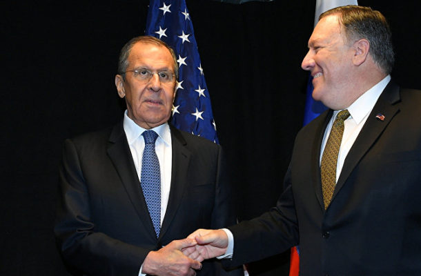 US Sec of State Pompeo and Russian FM Lavrov Hold Joint Presser in Sochi (VIDEO)