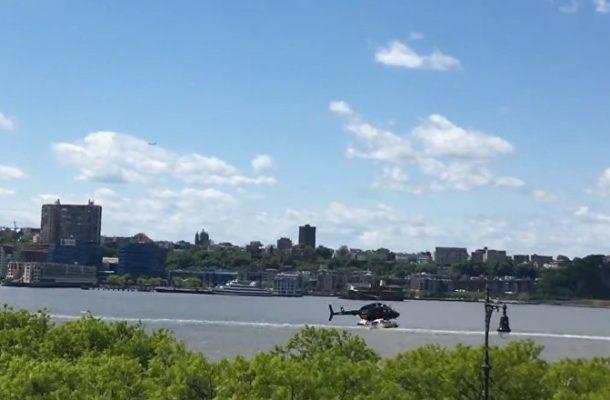 WATCH VIDEO Captures Helicopter Losing Control, Going Down in Hudson River