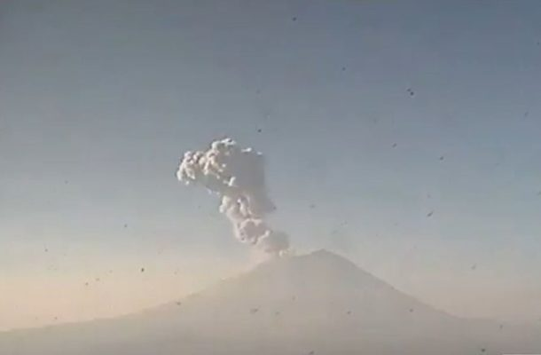 20 Municipalities May Be Affected as Mexico's Popocatepetl Erupts (VIDEO)