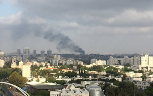 Explosion ROCKS Israeli Military Base in Tel Aviv (VIDEO)