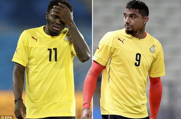 Ghana coach Appiah will ignore attempts to convince him over Muntari and KP Boateng