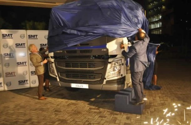 SMT Ghana launches new Volvo FM truck
