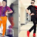 Nigerians react as Bobrisky reveals breasts, cleavage on internet