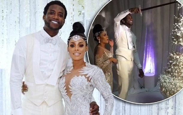 Rapper, Gucci Mane and wife Keyshia Ka'Oir celebrate 2nd wedding anniversary