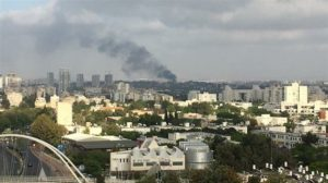 Explosion hits Israeli military base in Tel Aviv +Video