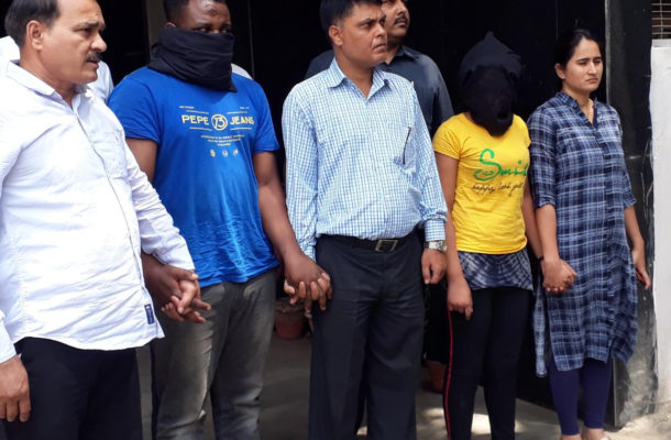 PHOTOS: Two Nigerian, one South African woman arrested in India's biggest ever narcotics seizure