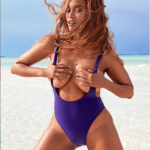 Tyra Banks grabs her boobs in racy photos from her Sports Illustrated Swimsuit edition cover