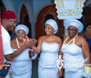 PHOTOS: Teen actress, Regina Daniels inducted into 'married women group' as billionaire politicians' 6th wife